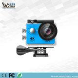 2.0 cámara impermeable vendedora caliente de la acción del deporte de WiFi de la pantalla del LCD de la pulgada 4k