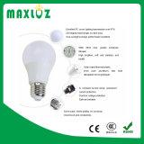 Bulbo de la alta calidad A60 E27 7W LED con el Ce RoHS
