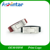 USB de couro Pendrive da vara USB3.0 do USB do Wristband