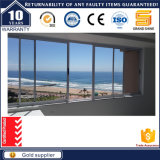 Niedriges E schiebendes Panel-Glasfenster des preiswerten Aluminiumrahmen-