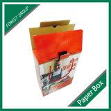 Constructeur en gros de boîte en carton ondulé de carton