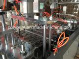 Tampa plástica descartável automática da tampa do copo que faz a máquina
