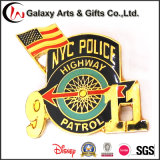911 상징을%s을%s 뉴욕시 금 도금 기념품 기장