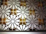 Topsonのシート・メタルの製造のステンレス鋼ホテルの装飾のための折る部屋ディバイダスクリーンの区分