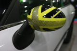 Yellow Union Jack Replacement Side Mirror Cover for Mini Cooper