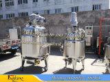 Réacteur de chauffage à vapeur à réacteur en acier inoxydable pour produits chimiques