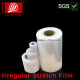 pellicola irregolare dell'involucro della pellicola di stirata di 4cm-200cm LLDPE