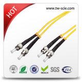 Duplex cabo de correção de programa da fibra da manutenção programada de 2.0mm ou de 3.0mm