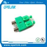 Manutenção programada simples do adaptador da fibra óptica para o cabo ótico