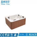 2.2 Da forma de prata do quadrado branco dos medidores banheiras Relaxing dos TERMAS
