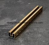 201 pipe décorative d'acier inoxydable de configuration de 304 frettes