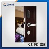 Bloqueo de puerta Keyless del hotel, bloqueo del hotel de RFID, bloqueo de la tarjeta del hotel