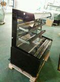 Vetrina della torta della parte anteriore/dispositivo di raffreddamento aperti visualizzazione del panino con la tenda del vento (K750AN-M2)