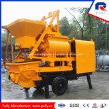 Zufuhrbehälter-Kapazität der Riemenscheiben-Fertigung-800L für Dorf, Straße, Brücken-Tunnel-Aufbau-Schlussteil-Betonpumpe mit Mischer für Verkauf in Indonesien (JBT40-L)