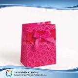 Sac de transporteur de empaquetage estampé de papier pour les vêtements de cadeau d'achats (XC-bgg-043)