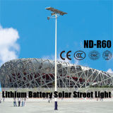 (ND-R60) света белого СИД светильника 8~12m светлое Поляк 120W солнечные для освещения площади