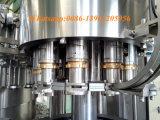 Máquina de enchimento do tampão de coroa da cerveja do vinho do frasco de vidro