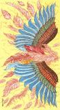 Kundenspezifischer Flügel Silk Shalws im Digital-Drucken