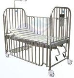 304의 Stainsteel 강철 프레임 2 크랭크 병원 아이 침대를 가진 AG-CB014