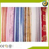 Lámina para gofrar caliente brillante para la materia textil