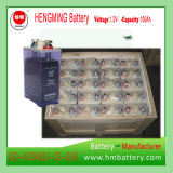 Hengming 1.2V100ah Kpm100の小型のタイプニッケルカドミウム電池のKpmシリーズ(NICD電池)充電電池