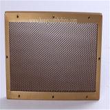 Вентиляция двери гаража обшивает панелями алюминий (HR329)