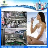 Agua automática que hace la máquina