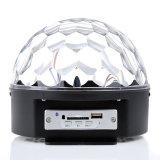 Производство светодиодных Кристалл Magic Ball Light MP3-плеер Disco Magic Light с Bluetooth