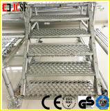 Escalera del andamio/escalera de acero de la escalera del andamio/del andamio