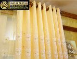 Заволакивания окна длиннего желтого высокого качества занавесов дешевые