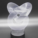 Regalo promozionale del regalo creativo chiaro acrilico del LED