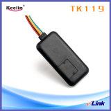 Tipo escondido perseguidor do fio do GPS com software e suporte laboral contra-roubo (TK119)