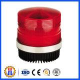 Luz de advertência solar da construção vermelha do diodo emissor de luz