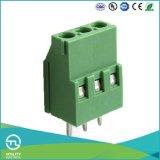 Блок поддержки прокладки PCB латунного винта продуктов Mu2.5h5.0/5.08 терминальный