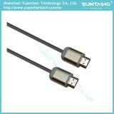 イーサネットおよび2つの亜鉄酸塩フィルターが付いている高速HDMIケーブル