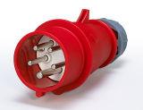 Industrieller gerader Stecker 16A/32A 5pole 415V IP67 neu