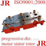電動機の回転子の固定子のラミネーションの進歩的な押すツールか型はまたは停止する