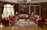 Sofá americano da tela com frame de madeira