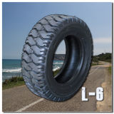 Soem für XCMG industriellen Gummireifen-/Gabelstapler-festen schrägen Reifen-Rotluchs ermüdet L-6