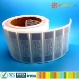 Étiquette étrangère d'étiquette d'IDENTIFICATION RF du H3 ALN-9662 de fréquence ultra-haute