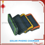 Hot-Selling Solar Power Bank Charger 8000mAh, carregador solar, banco de energia solar portátil para dispositivos inteligentes