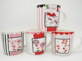 Taza de cerámica de la manera simple para el regalo