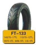 Neumático de la motocicleta de la calidad de Goldenboy, fábrica principal para África y mercado de Suramérica