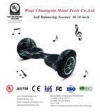 Neues Modell 2017 mit kühlem Bluetooth Lautsprecher 10 Zoll-Bewegungsgrößen-elektrischer Selbst-Balancierender Roller