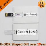 Movimentação feita sob encomenda do flash do USB do cartão de crédito do negócio do metal do presente do logotipo (YT-3101-03)