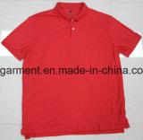 Polo más barato del precio para el hombre, mercancías al por mayor, ropa común