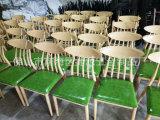 Café amortiguado cuero de madera de la PU Resataurant del grano que cena la silla (JY-R14)