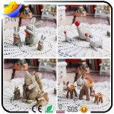 昇進のギフトを持つ熱い販売法のZakkaの樹脂のクラフトの装飾の漫画動物