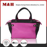 Tassels que emendam bolsas portáteis do couro do saco das mulheres da forma da grande capacidade