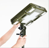 Portable ligero solar LED que acampa yendo de excursión la linterna ligera al aire libre de la lámpara de la noche de la tienda de la pesca